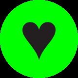 icono de un corazón